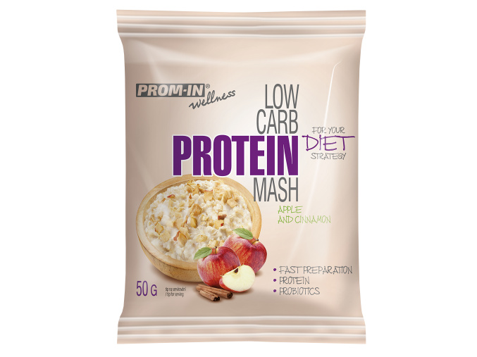 Prom-In New Low Carb Protein Mash - vzorek 50g