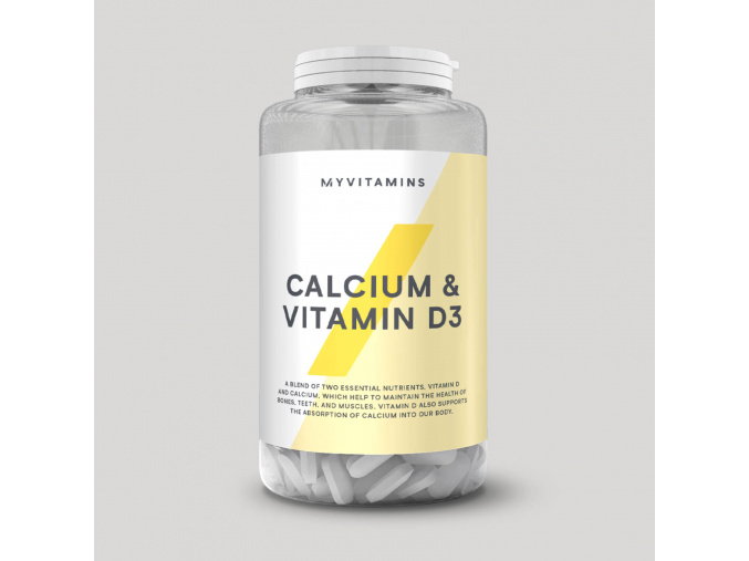 MyProtein Vápník a Vitamín D3 180 tablet