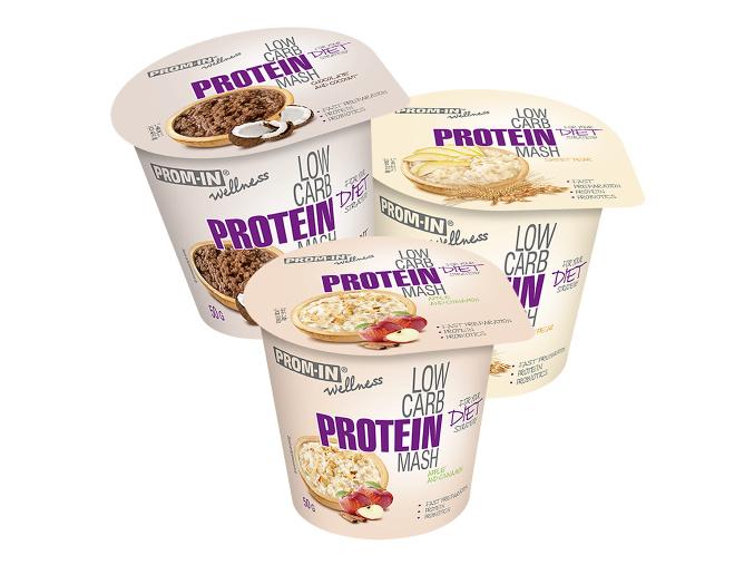 Prom-In New Low Carb Protein Mash - kelímek 50g
