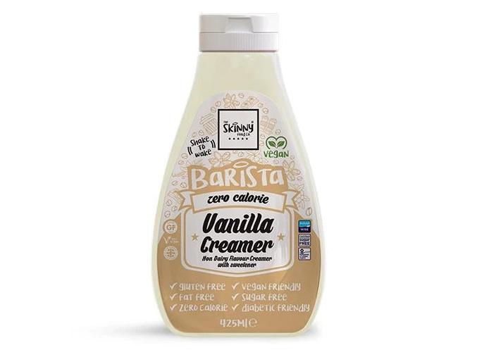 vanilla barista zero calorie sugar free non dairy creamer 425ml 699493 600x