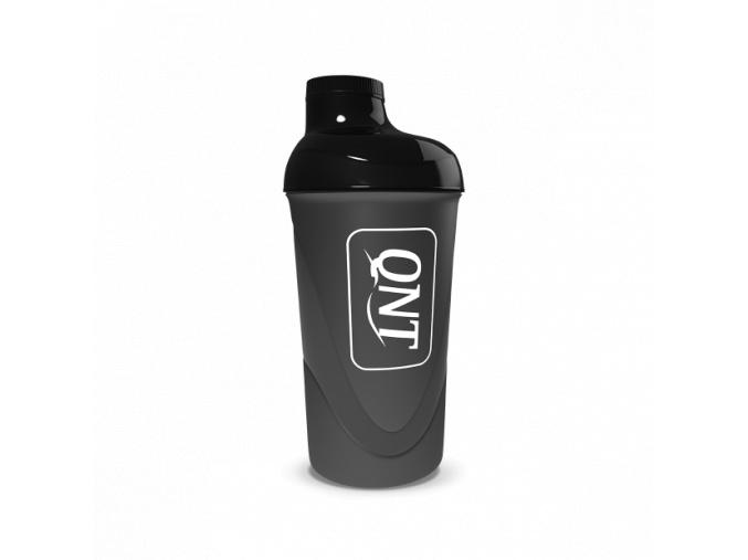 qnt plastic shaker 600ml black