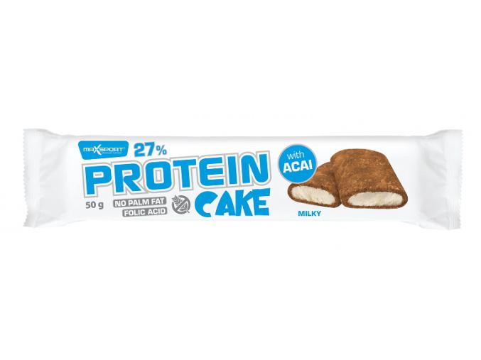 Protein cake milky