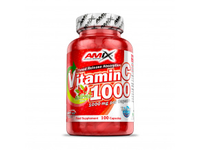 Amix Vitamin C 1000mg - 100 kapslí