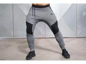 Body Engineers NEO teplákové kalhoty - Tmavě šedá (Velikost XXL)
