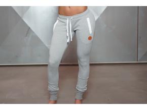 Body Engineers CETO A2 teplákové kalhoty - Světle šedá (Velikost xs)
