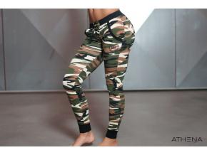 Body Engineers GAIA teplákové kalhoty - Maskáčová (Velikost xs)