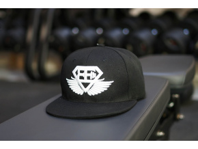 1717 body engineers snapback ksiltovka be cerna s bilym logem