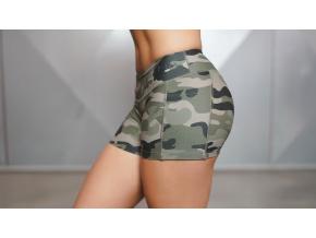Body Engineers LOTUS Army kraťasy - CAMO (Velikost xs)