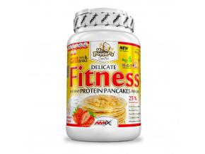 Amix Fitness Protein Pancakes 800g (Příchuť Jahody a jogurt)