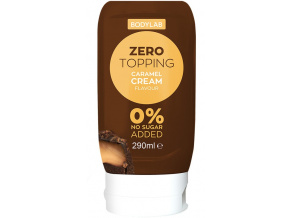 Bodylab Zero Topping Syrup 290ml (Příchuť White choco raspberry)