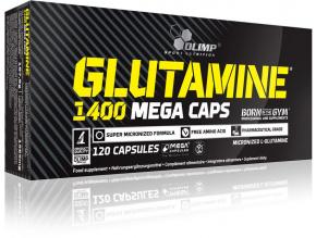 Glutamine Mega Caps 1400
