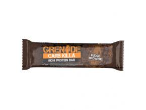 carb killa fudge brownie bar 800