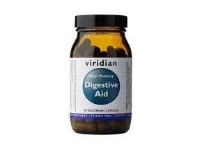 366 viridian high potency digestive aid 90 kapsli