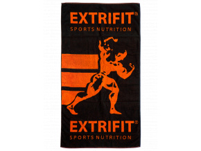 Extrifit Osuška (Barva Černo-oranžová)