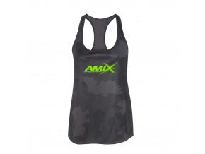 Amix Dámské tílko (Velikost xs, camo-černá)