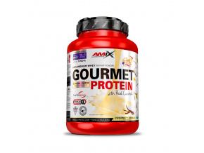 Amix Gourmet Protein (Velikost 1000g, Příchuť Borůvka-jogurt)