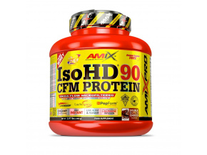 Amix IsoHD 90 CFM Protein (Příchuť Moca Choco Coffee, Velikost 1800g)