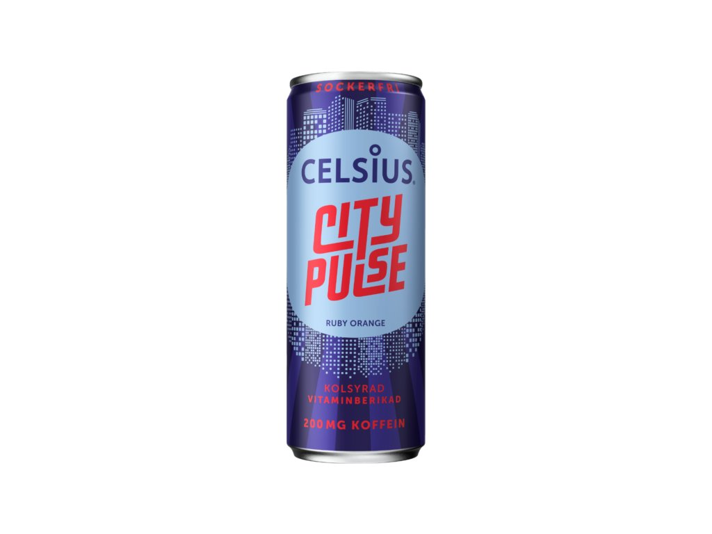 Celsius Energetický Nápoj City Pulse 355 ml fitstories