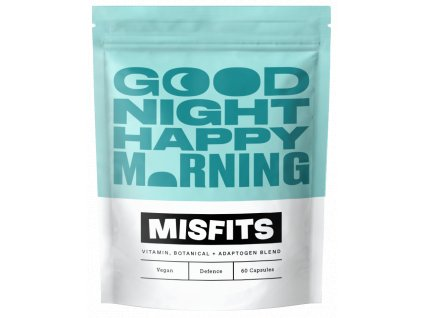 Good Night Happy Morning missfits fitstories doplnek stravy