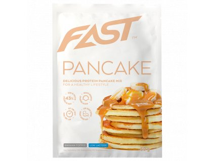 fast protein pancake 50 g banana toffe FITSTORIES CZ