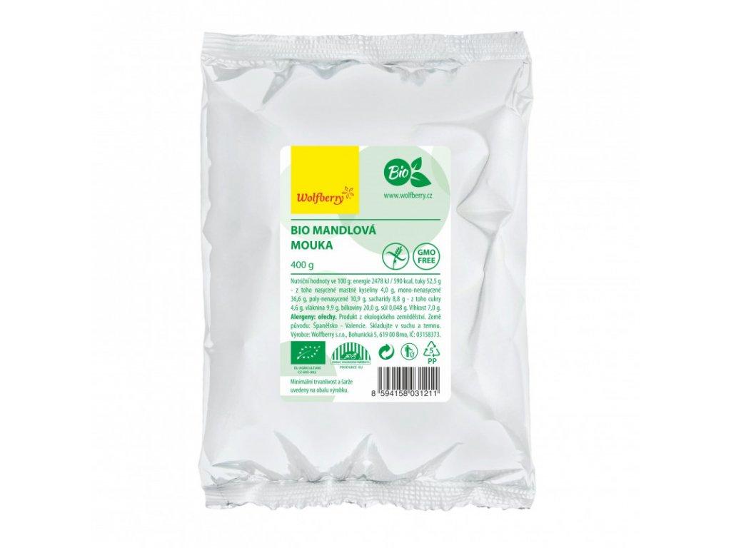 mandlova mouka wolfberry bio 400 g