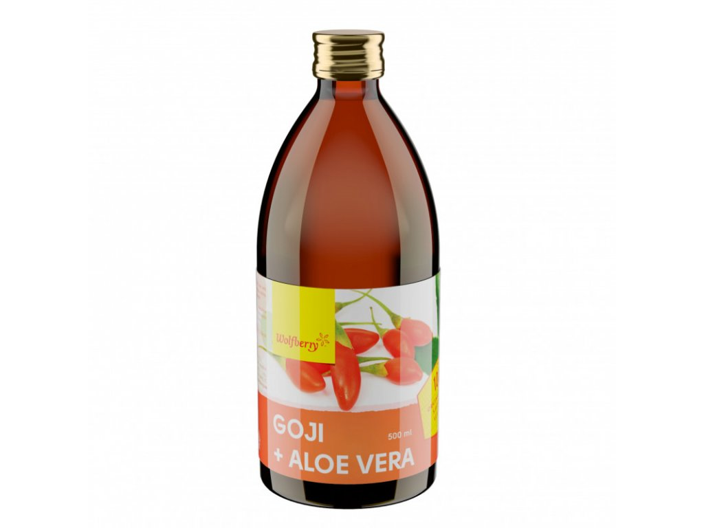 goji aloe vera wolfberry 500 ml
