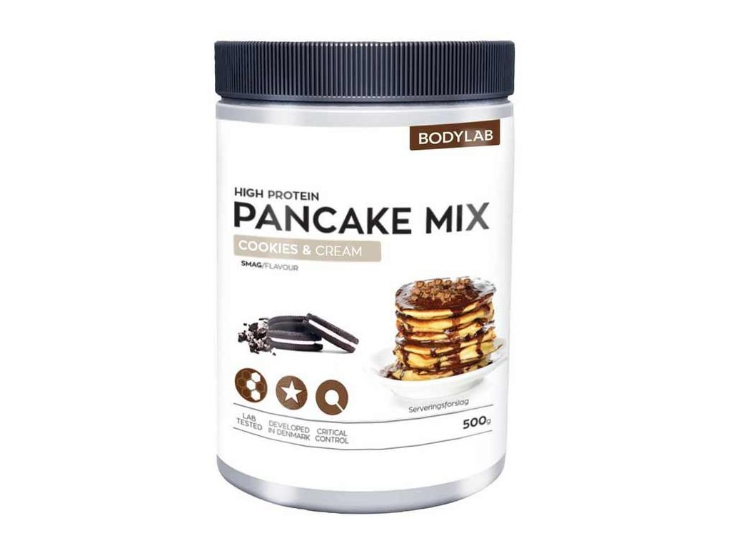 bodylab high protein pancake mix cookie