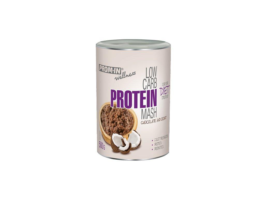 Prom-IN Low Carb Protein Mash 500g (množství čokoláda/kokos 500g)