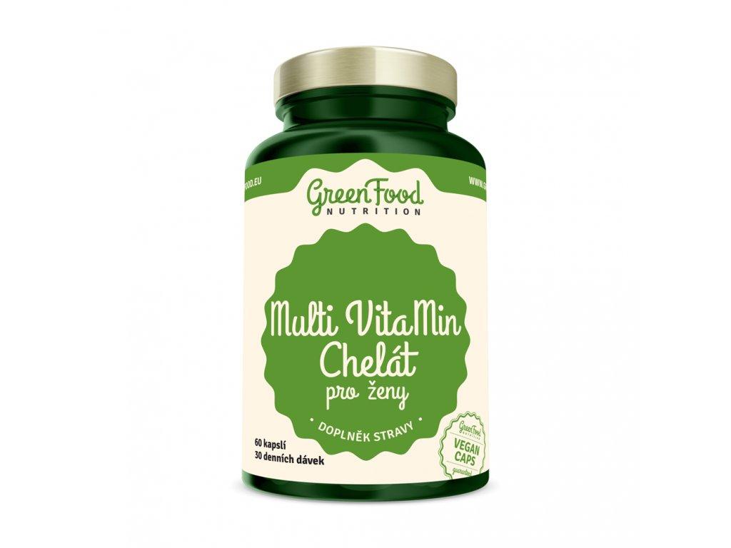 greenfood nutrition multi vitamin chelat pro zeny