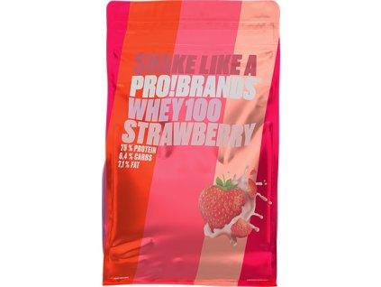 PROBRANDS 100% Whey Protein (příchuť čokoláda, množství 900g)