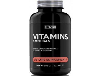 Descanti Vitamins minerals 60tbl web