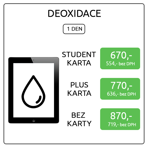 iPad 3 - deoxidace