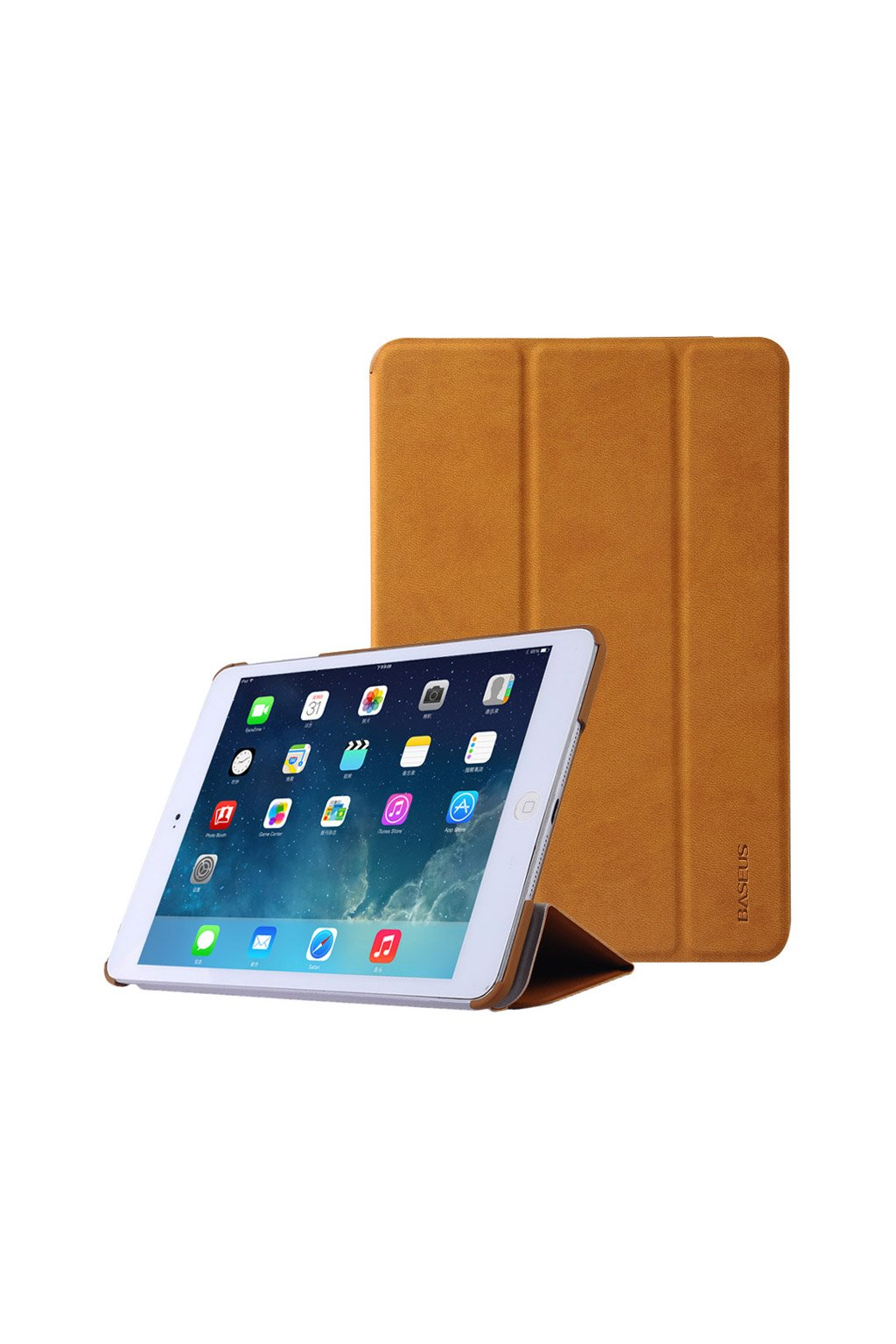 Pouzdro flip Baseus Smart Apple iPad mini 1/2/3, brown