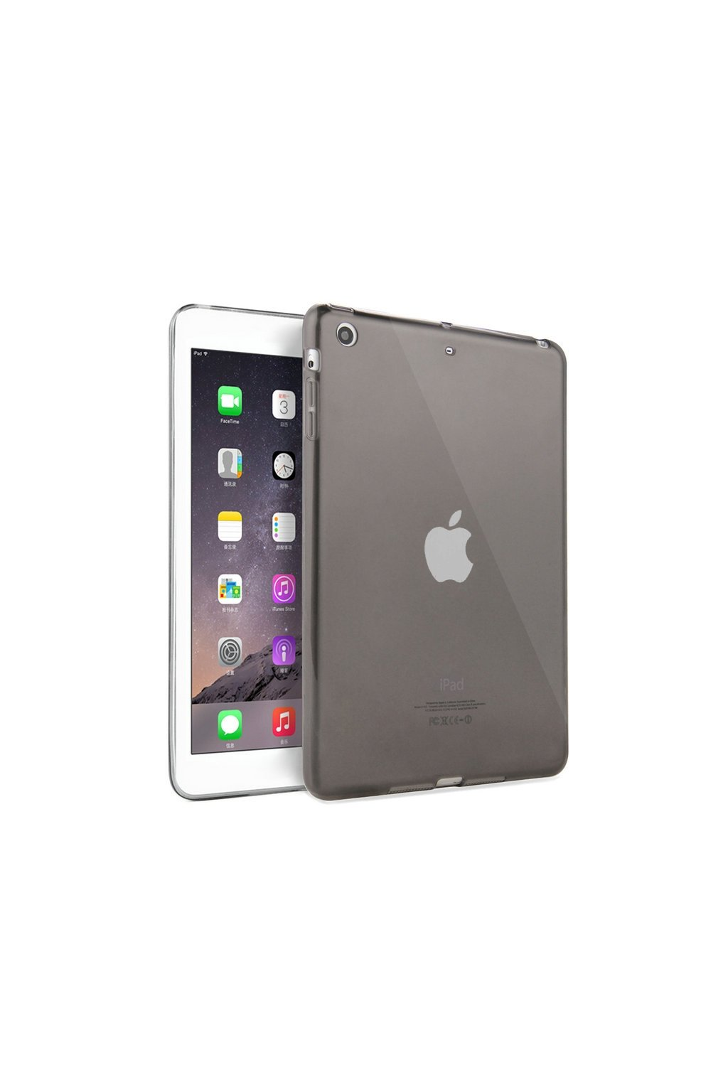 Pouzdro HAWEEL TPU iPad mini 1/2/3, black