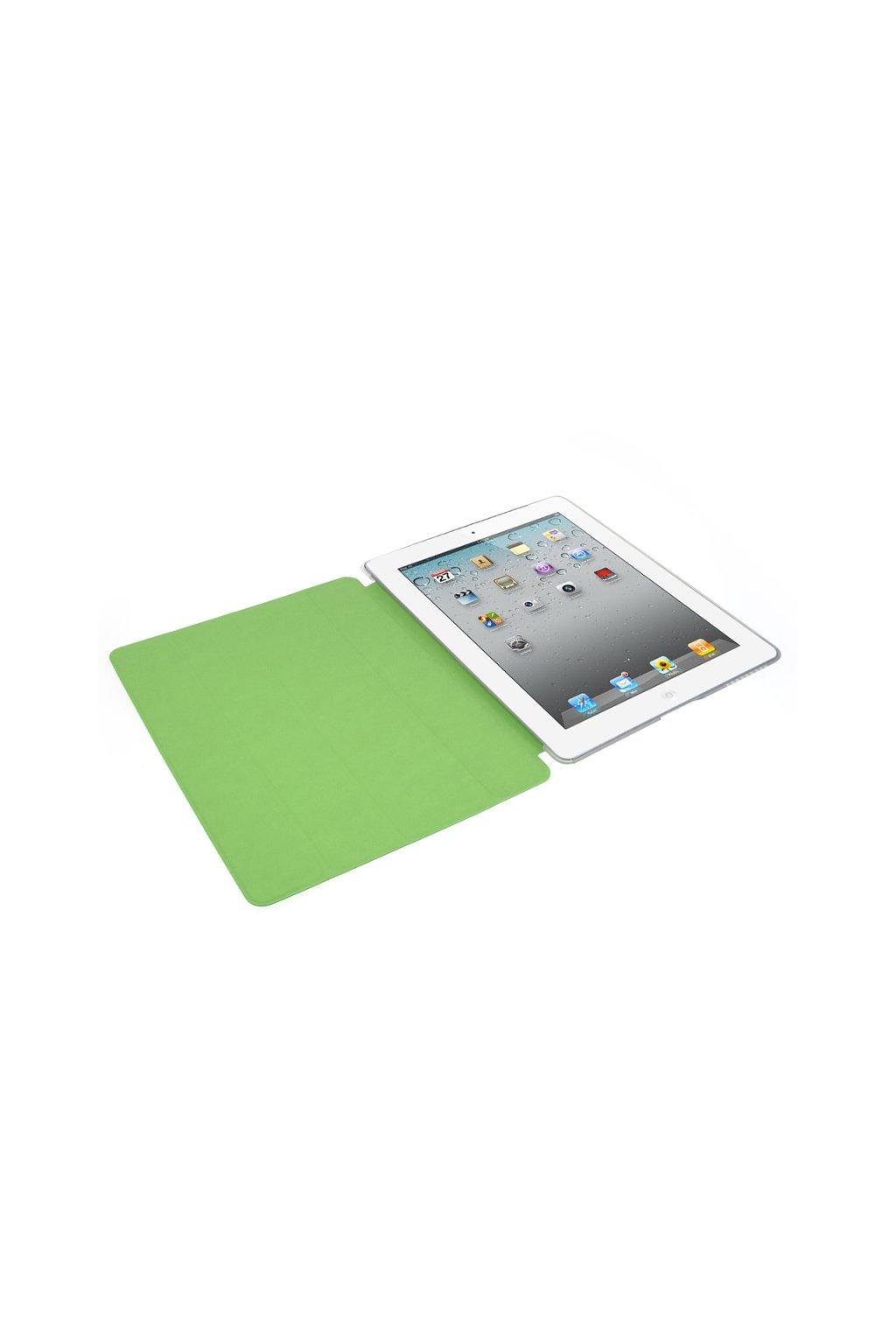 Pouzdro flip Smart Apple iPad 2/3/4, green