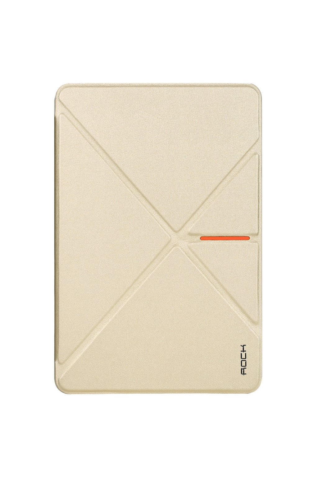 Pouzdro flip ROCK DeVita Apple iPad mini (2019)/ mini 4, gold
