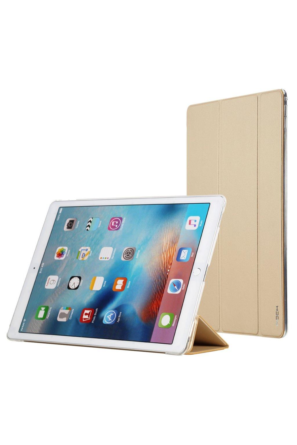 "Pouzdro flip ROCK Touch Apple iPad Pro 12.9"", gold"