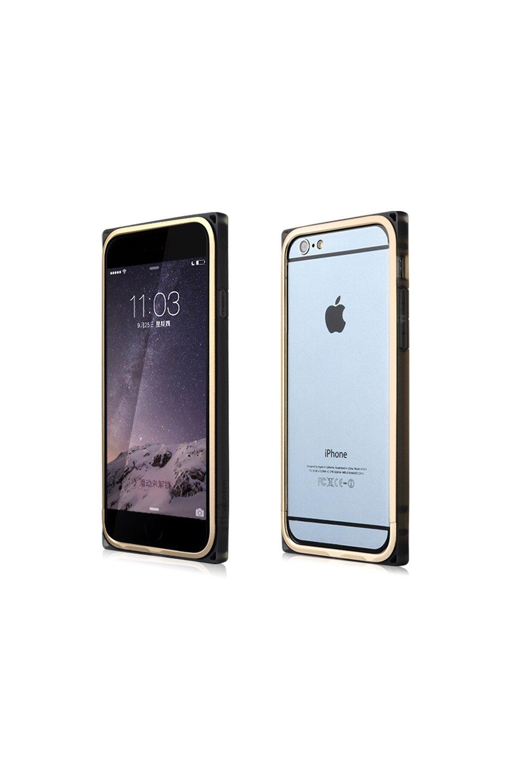Bumper Baseus Rigid Apple iPhone 6/6S,gold