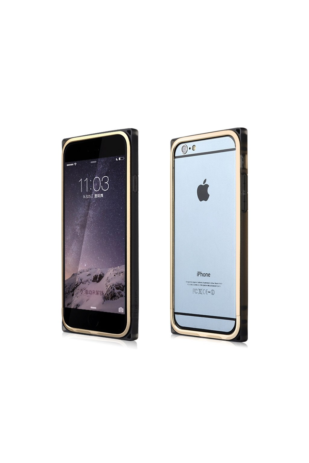 Bumper Baseus Rigid Apple iPhone 6/6S,gold