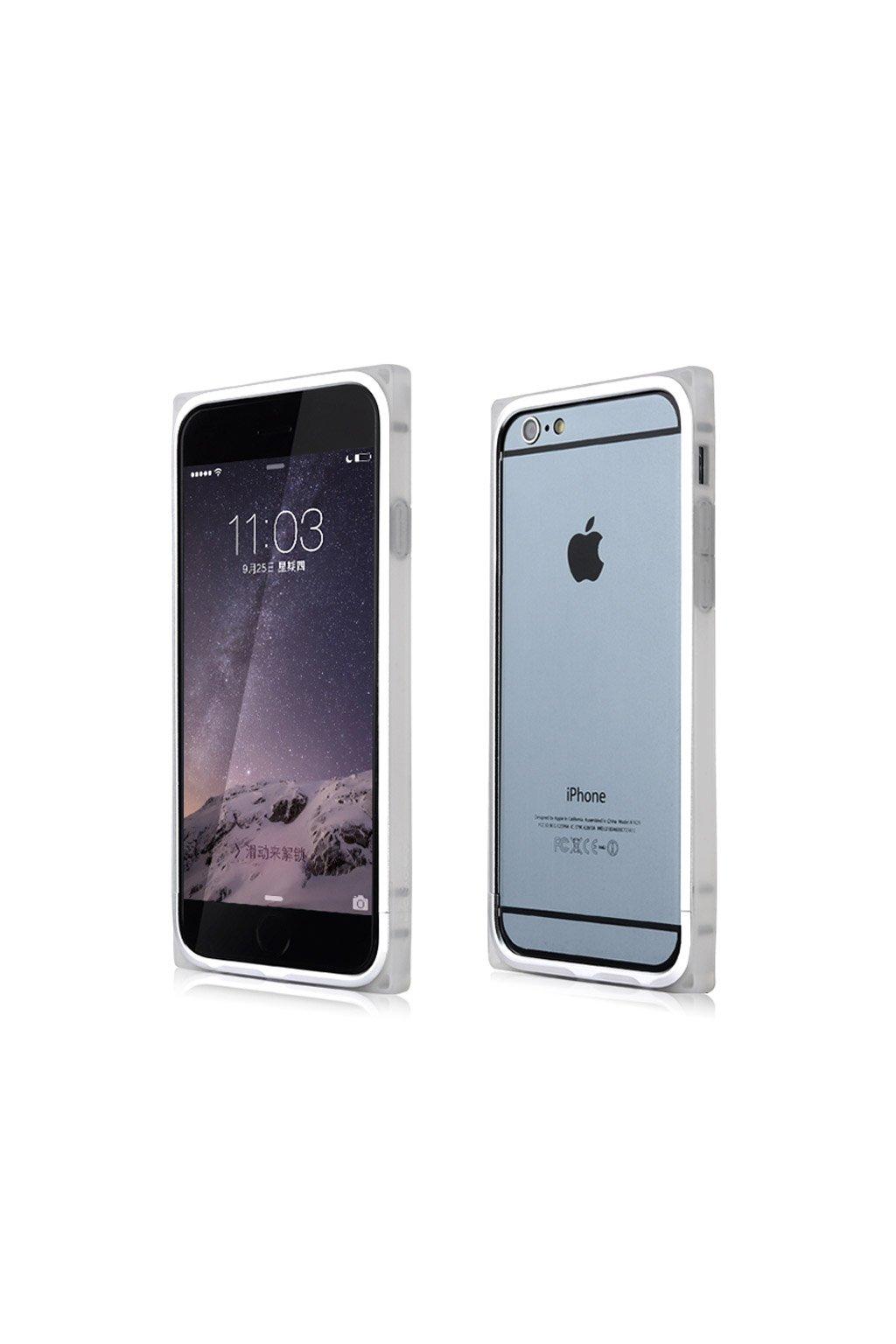 Bumper Baseus Rigid Apple iPhone 6/6S, silver