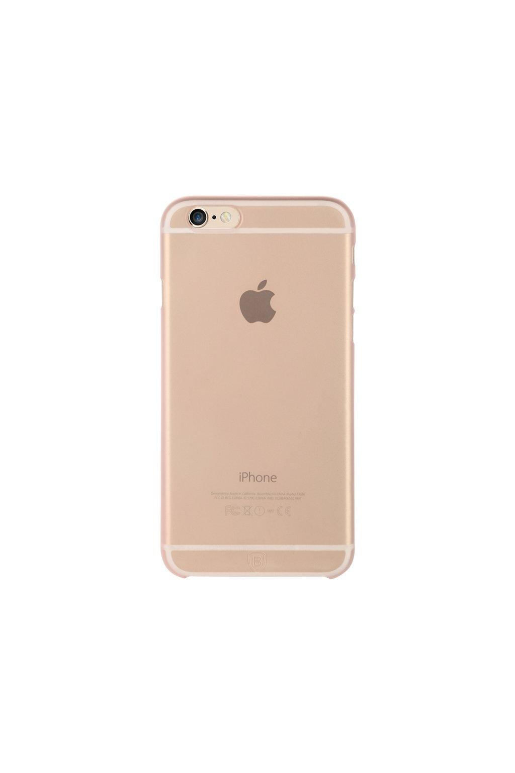 Pouzdro Baseus Design Apple iPhone 6/6S, pink