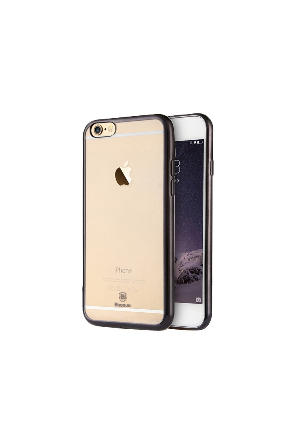 Pouzdro Baseus Shining Apple iPhone 6/6S, black