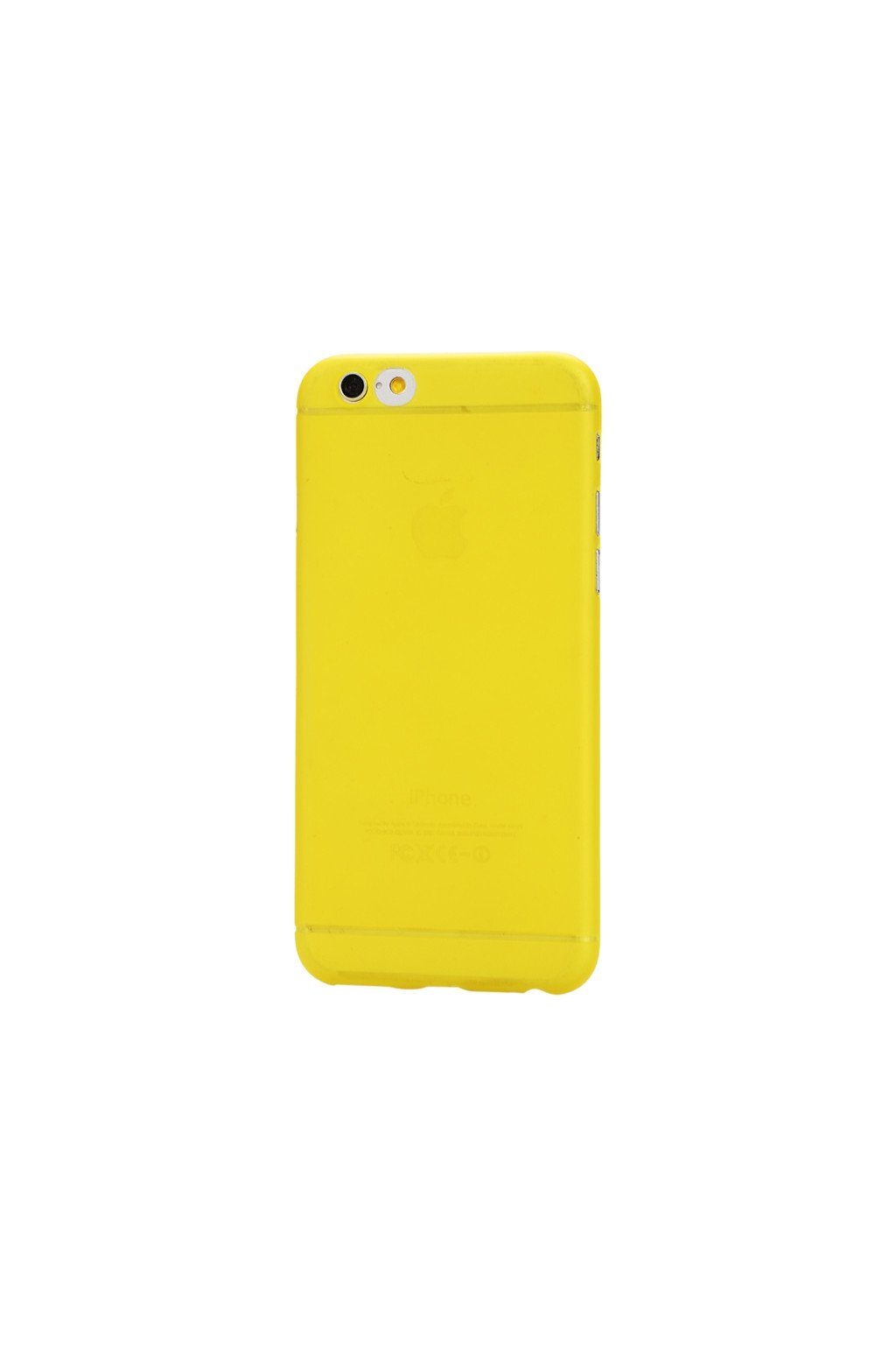 Pouzdro TPU Classic Apple iPhone 6/6S, yellow