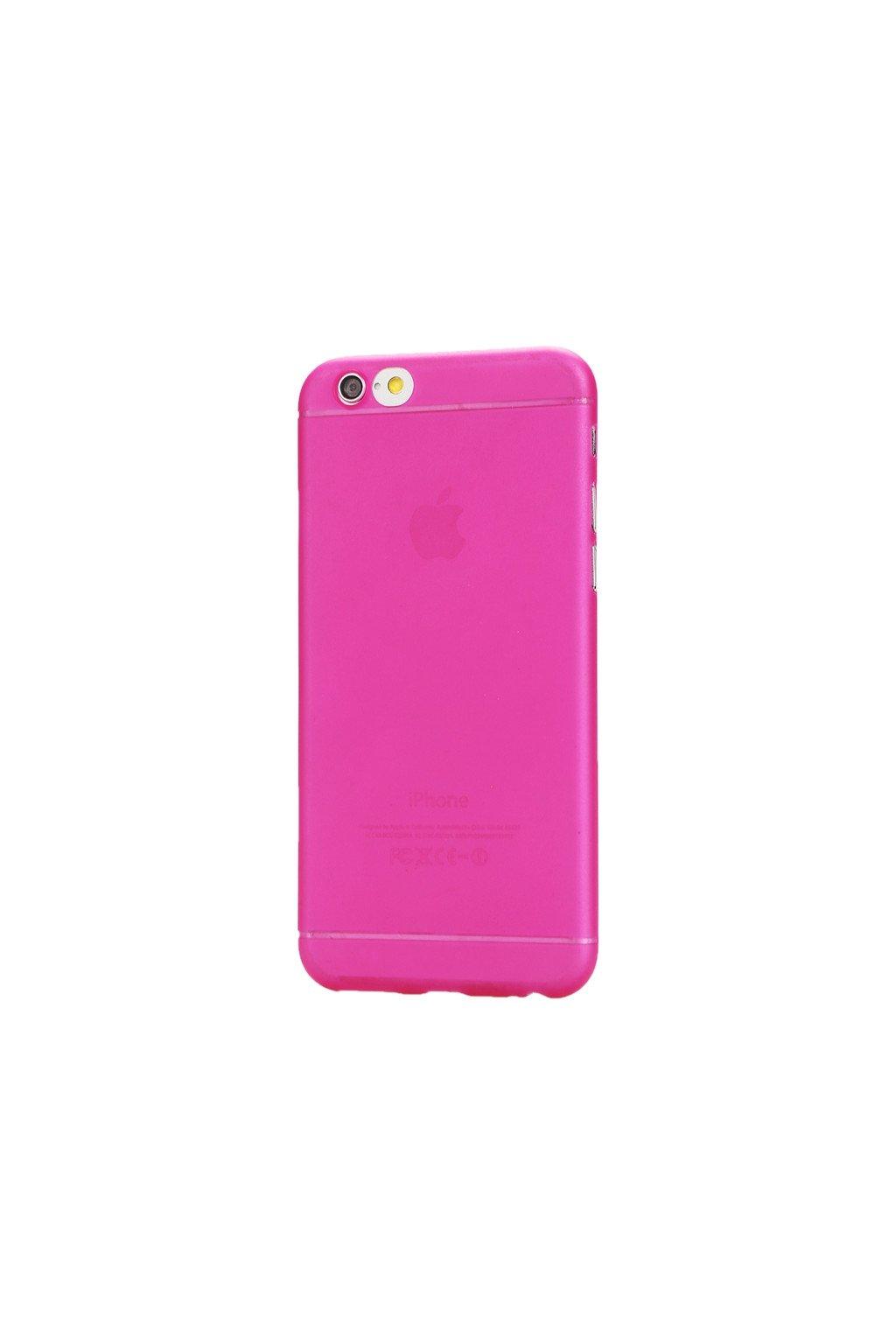 Pouzdro TPU Classic Apple iPhone 6/6S, pink