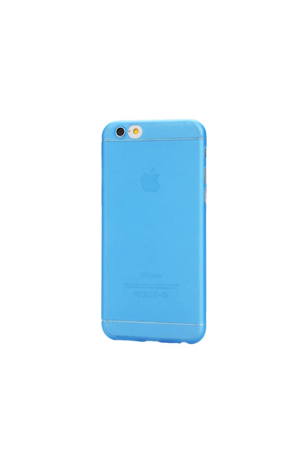 Pouzdro TPU Classic Apple iPhone 6/6S, blue