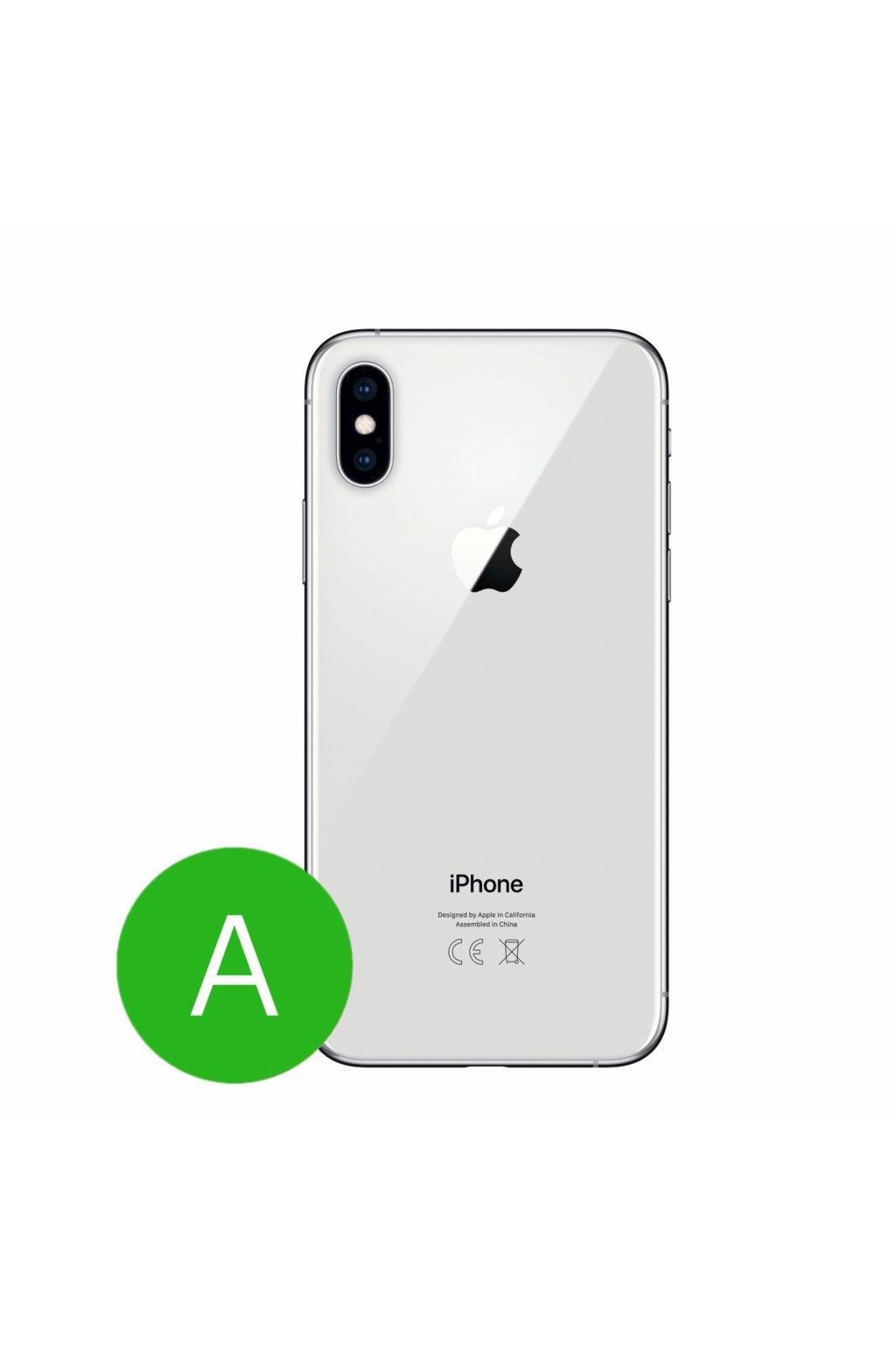 Apple iPhone XS 64GB, stříbrný - použitý