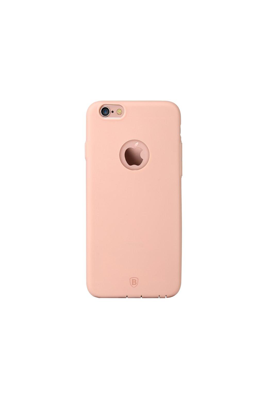Pouzdro Apple iPhone 6/6S Plus Baseus TPU Mousse, pink