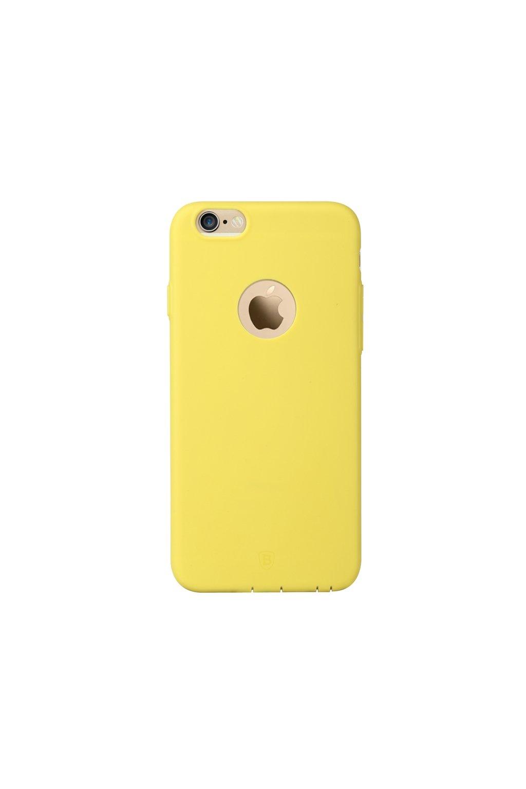 Pouzdro Apple iPhone 6/6S Plus Baseus TPU Mousse, yellow