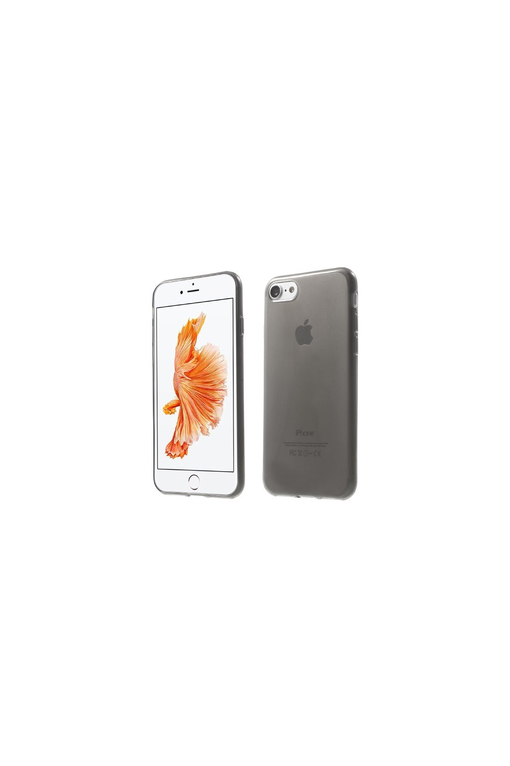 Pouzdro silikonové Apple iPhone 7/8, grey