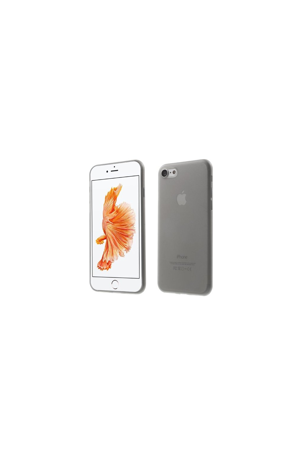 Pouzdro TPU Classic Apple iPhone 7/8, grey